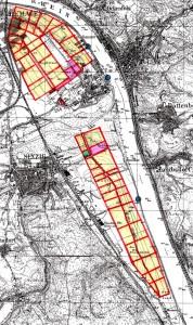 Karte Remagen und Sinzig